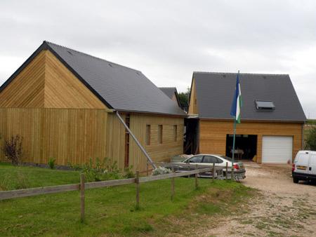 Decouvrir montfarville maison en paille 248 for Decouvrir maison